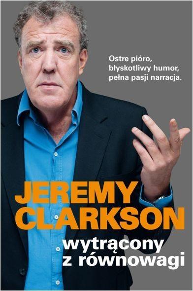 okładka Wytrącony z równowagi, Książka | Jeremy Clarkson