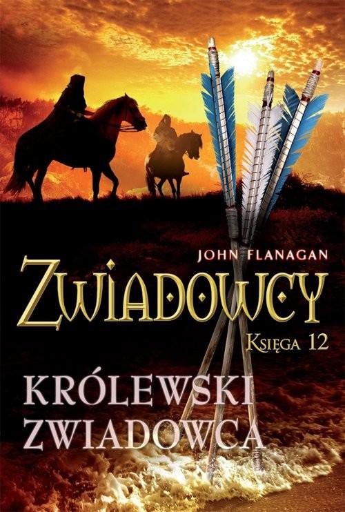 okładka Zwiadowcy 12. Królewski zwiadowca, Książka | John Flanagan