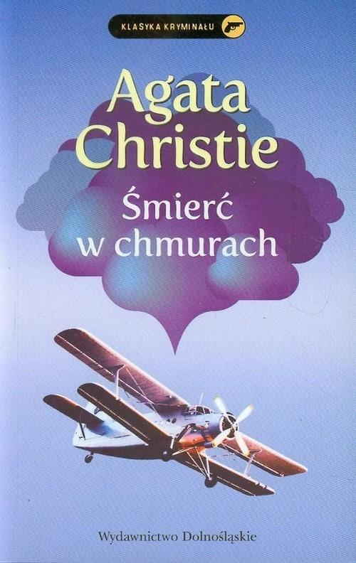 okładka Śmierć w chmurach, Książka | Agatha Christie