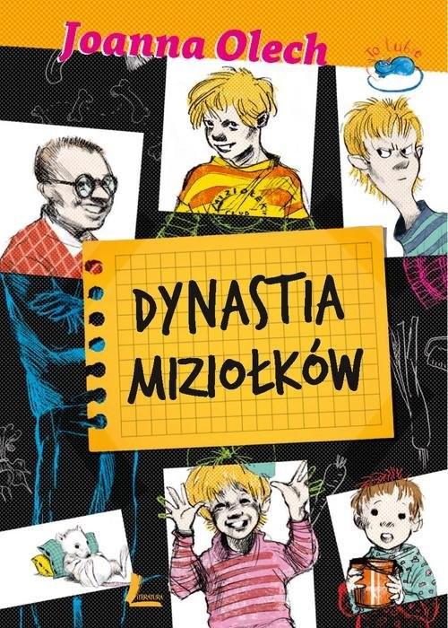 okładka Dynastia Miziołków, Książka | Olech Joanna