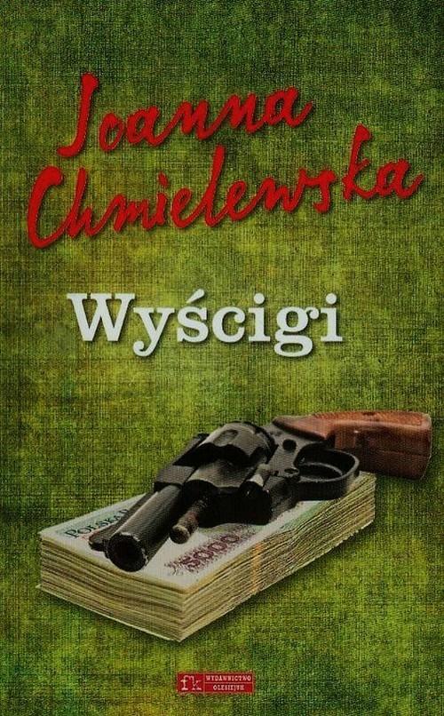 okładka Wyścigi, Książka   Chmielewska Joanna