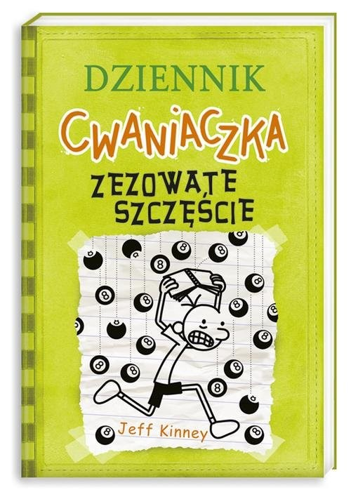 okładka Dziennik cwaniaczka 8. Zezowate szczęście, Książka | Jeff Kinney