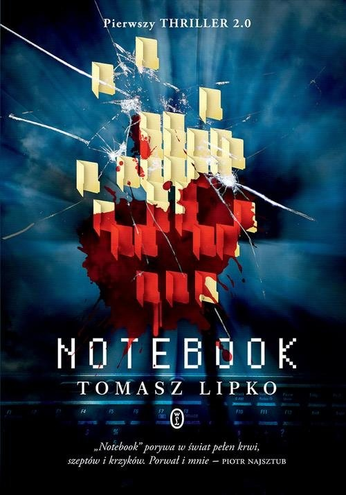 okładka Notebook, Książka | Tomasz Lipko