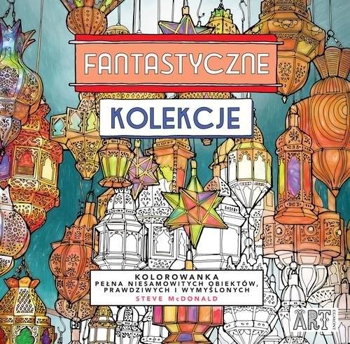 okładka Fantastyczne kolekcje, Książka | McDonald Steve