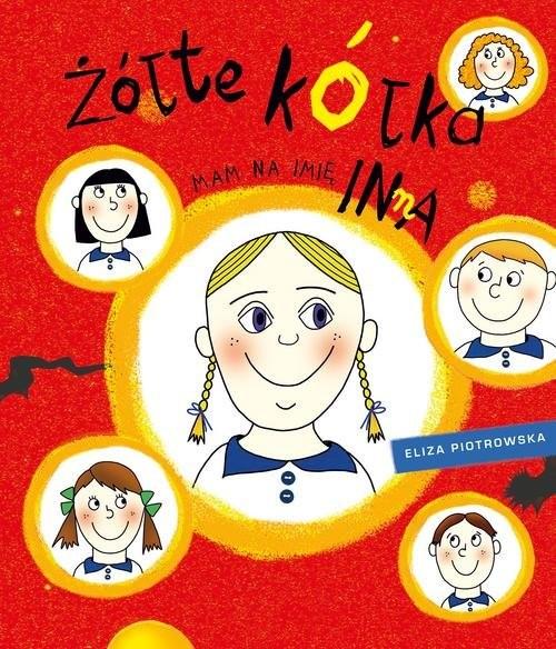 okładka Żółte kółka Mam na imię Inna, Książka | Eliza Piotrowska