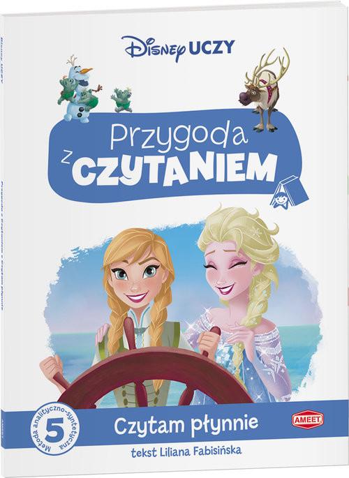 okładka Kraina Lodu Przygoda z Czytaniem PCA-2, Książka   Fabisińska Lilianna