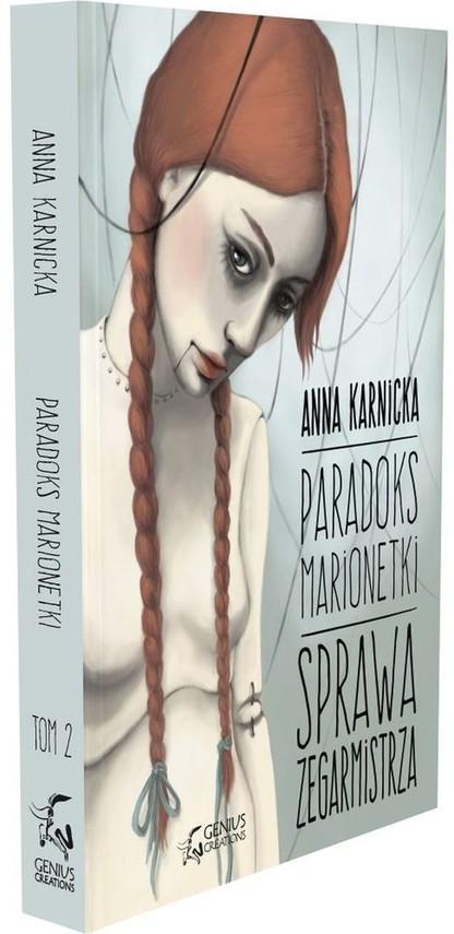 okładka Paradoks Marionetki Sprawa Zegarmistrza, Książka | Karnicka Anna