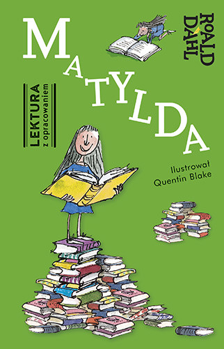 okładka Matylda. Lektura z opracowaniem, Książka | Roald Dahl