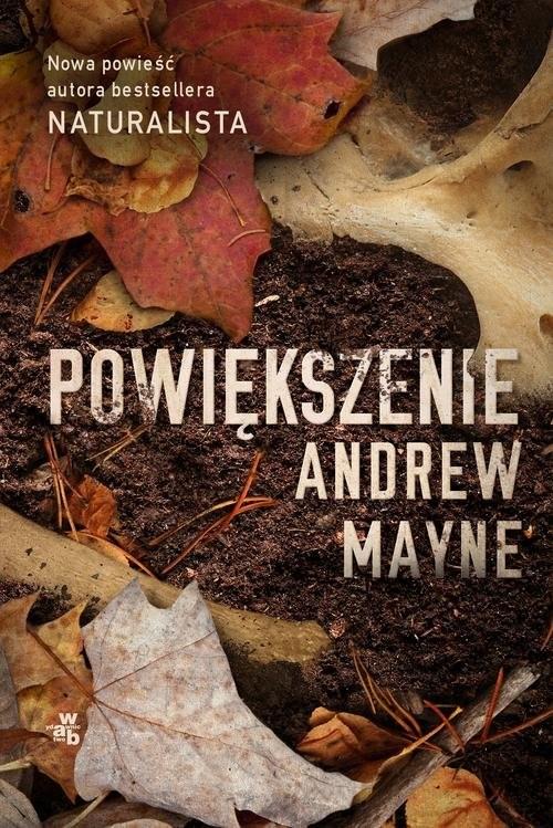 okładka Powiększenie, Książka | Mayne Andrew