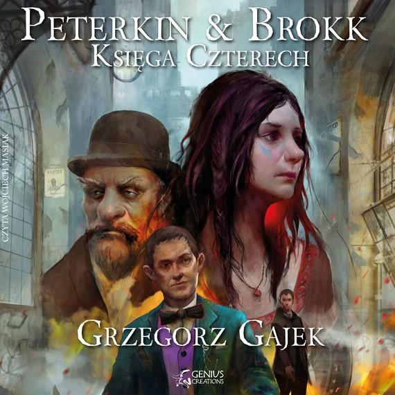 okładka Peterkin & Brokk: Księga Czterech, Audiobook | Grzegorz Gajek