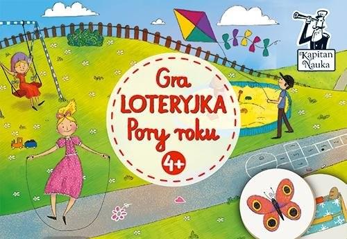 okładka Gra Loteryjka Pory roku 4+książka |  | Opracowanie zbiorowe