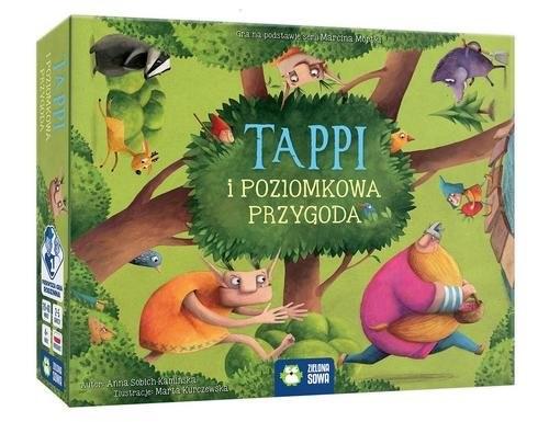 okładka Tappi i poziomkowa przygoda, Książka | Sobich-Kamińska Anna