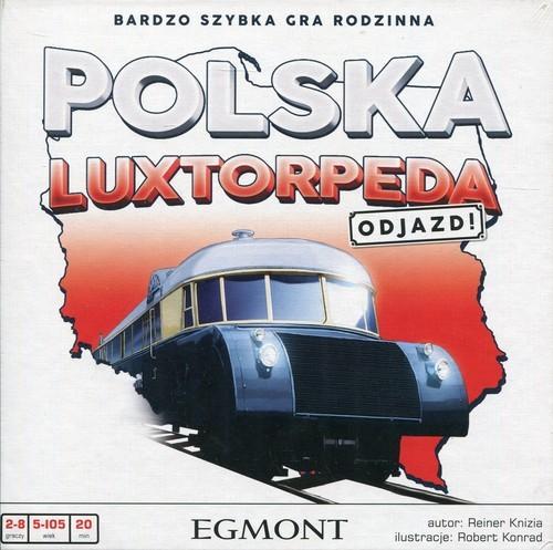 okładka Polska Luxtorpeda Odjazd Gra rodzinna, Książka  