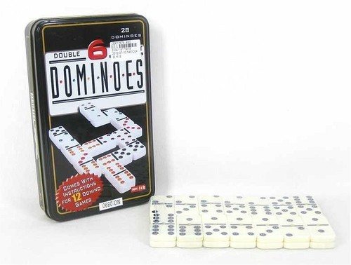 okładka Domino 28 elementów, Książka  