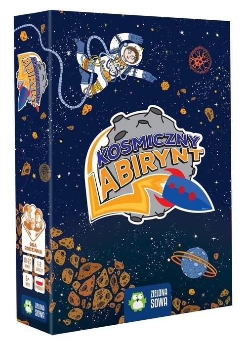 okładka Kosmiczny labirynt, Książka | Sobich-Kamińska Anna