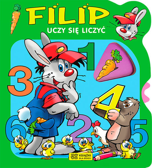 okładka Filip uczy się liczyć, Książka |