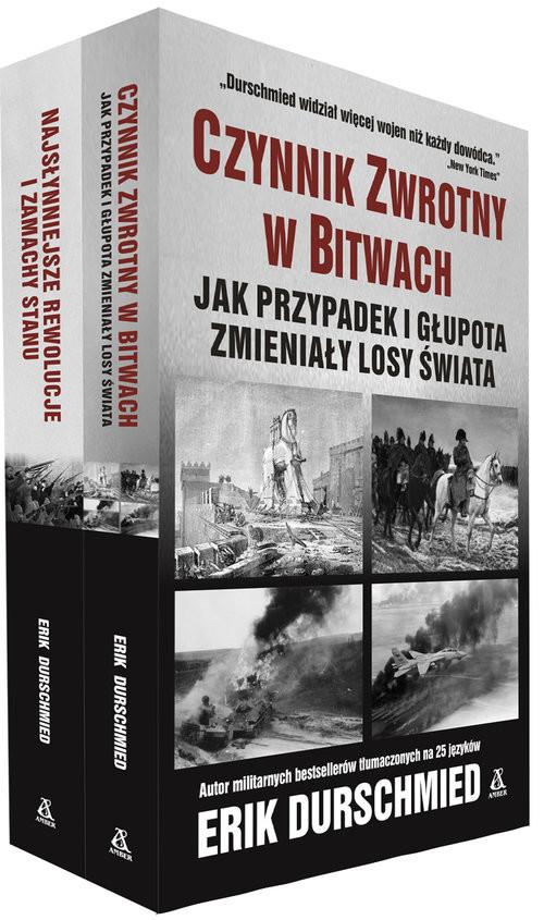 okładka Czynnik zwrotny w bitwach / Najsłynniejsze rewolucje i zamachy stanu Pakiet, Książka | Erik Durschmied