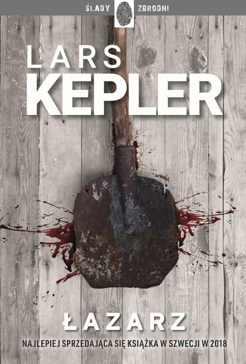 okładka Łazarz  Joona Linna 7, Książka | Kepler Lars