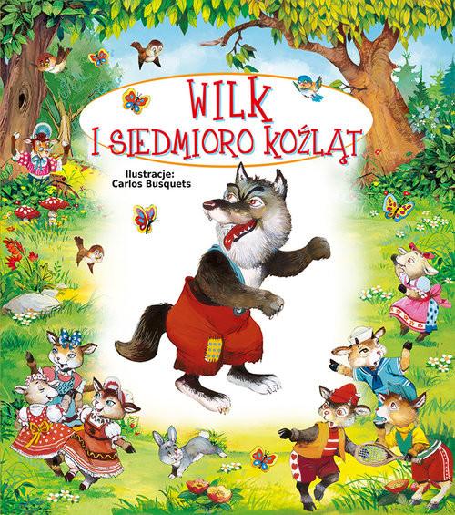 okładka Wilk i siedmioro koźląt, Książka | Terka