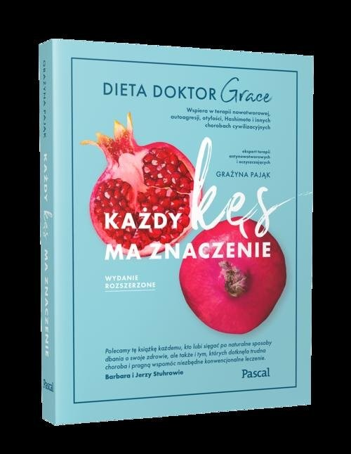 okładka Każdy kęs ma znaczenie. Dieta doktor Graceksiążka |  | Pająk Grażyna