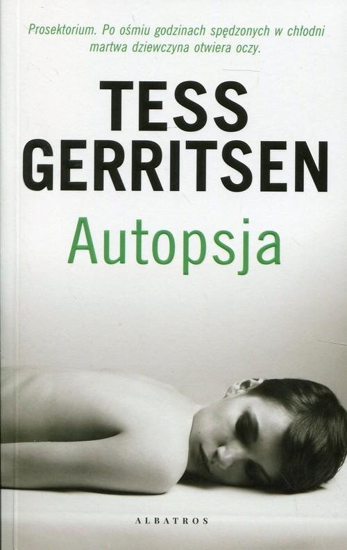 okładka Autopsjaksiążka      Tess Gerritsen