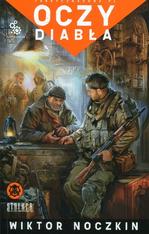 okładka Oczy diabła, Książka | Noczkin Wiktor