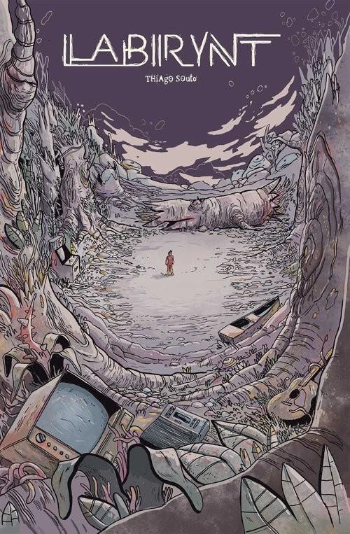 okładka Labirynt, Książka | Thiago Souto
