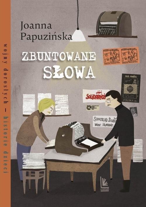 okładka Zbuntowane słowa, Książka | Papuzińska Joanna