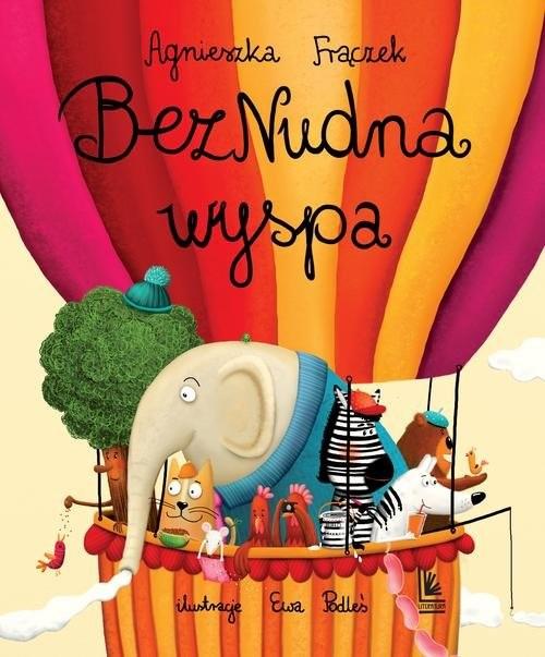 okładka BezNudna wyspa, Książka | Frączek Agnieszka