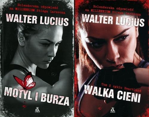 okładka Motyl i burza / Walka Cieni Pakiet, Książka | Lucius Walter