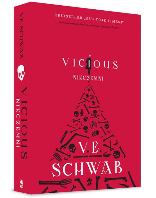 okładka Vicious Nikczemni, Książka | Schwab Victoria