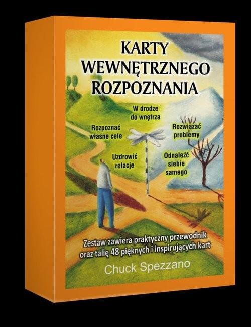 okładka Karty Wewnętrznego Rozpoznania, Książka | Spezzano Chuck