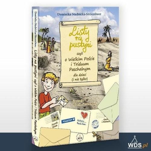 okładka Listy na Pustyni, Książka |