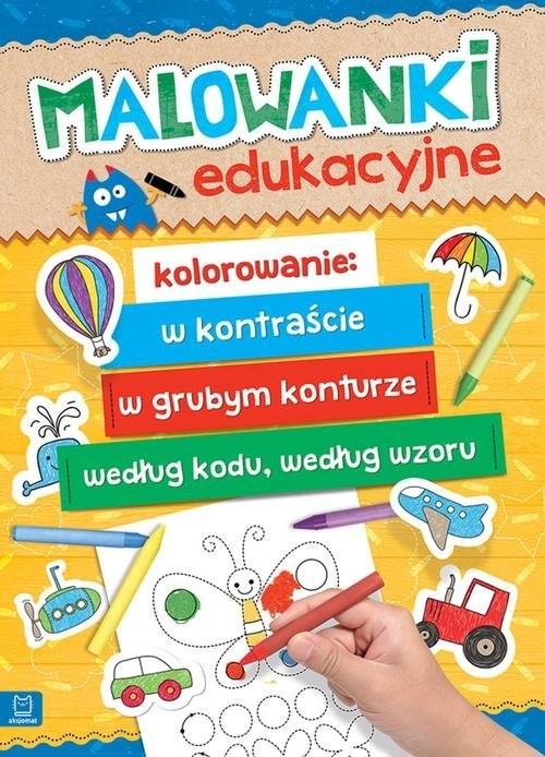 okładka Malowanki edukacyjne, Książka |