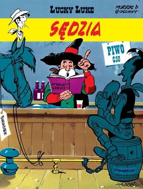 okładka Lucky Luke Sędzia, Książka | Goscinny Rene