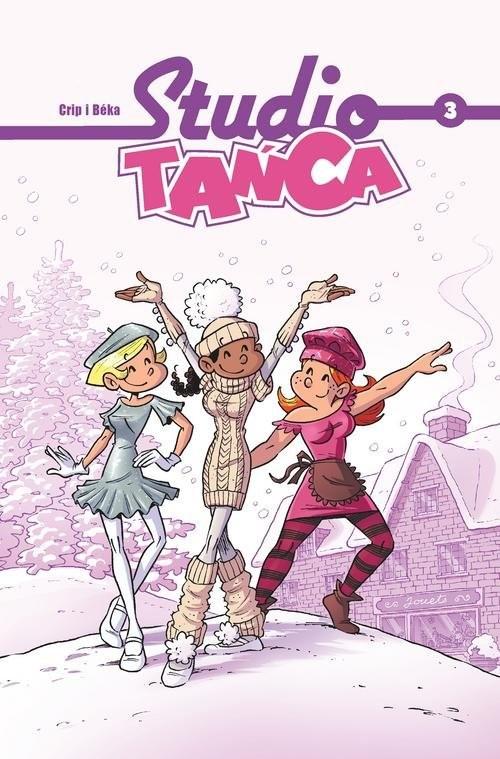 okładka Studio Tańca Tom 3, Książka |