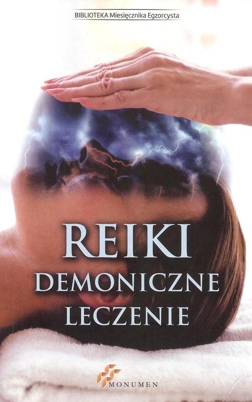 okładka Reiki demoniczne leczenie, Książka |