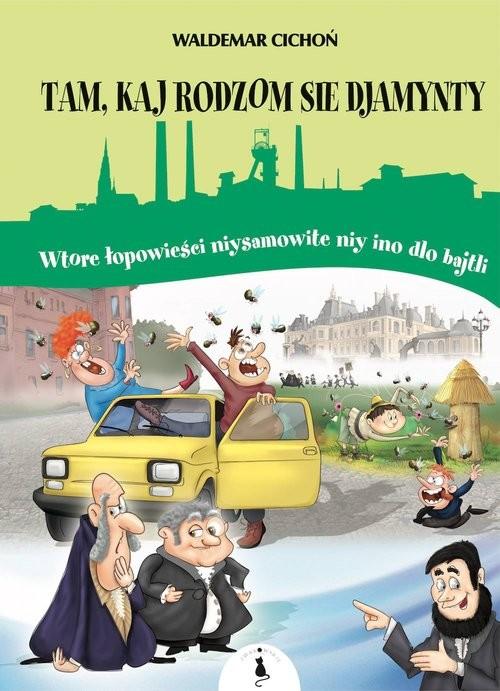 okładka Tam kaj sie rodzom djamynty, Książka | Cichoń Waldemar