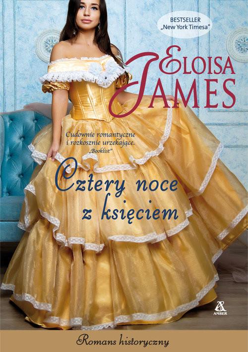 okładka Cztery noce z księciem, Książka | James Eloisa