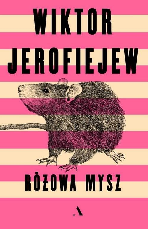 okładka Różowa mysz, Książka | Jerofiejew Wiktor