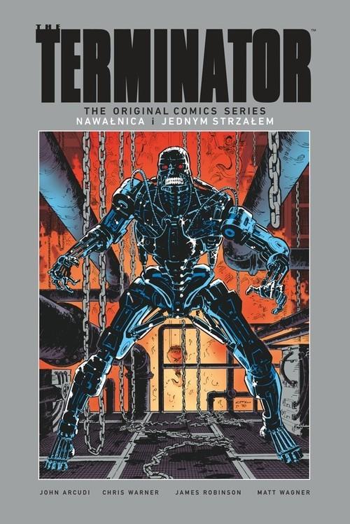 okładka Terminator Nawałnica /Jednym strzałem, Książka | James Robinson, John Arcudi, Matt Wagner, War