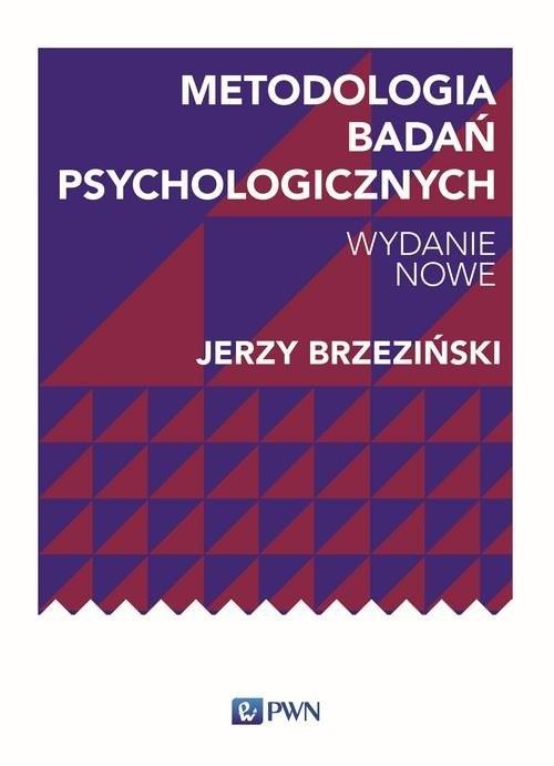 okładka Metodologia badań psychologicznych, Książka | Jerzy M. Brzeziński