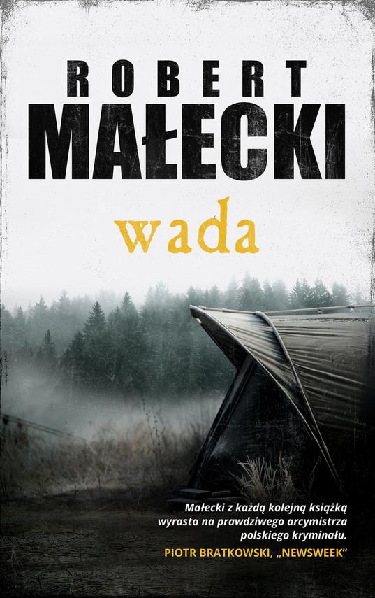 okładka Wada, Książka | Małecki Robert