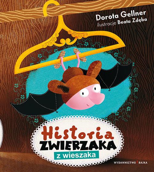 okładka Historia zwierzaka z wieszaka, Książka | Gellner Dorota