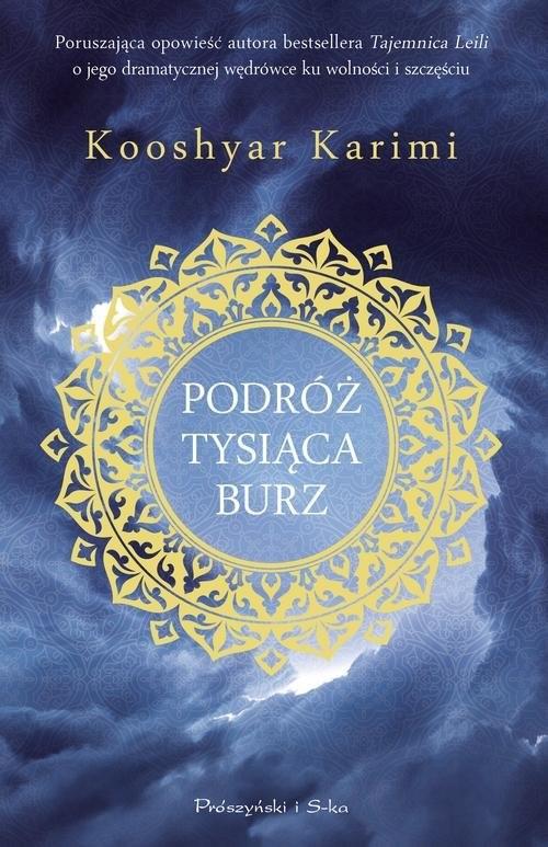 okładka Podróż tysiąca burz, Książka | Karimi Kooshyar