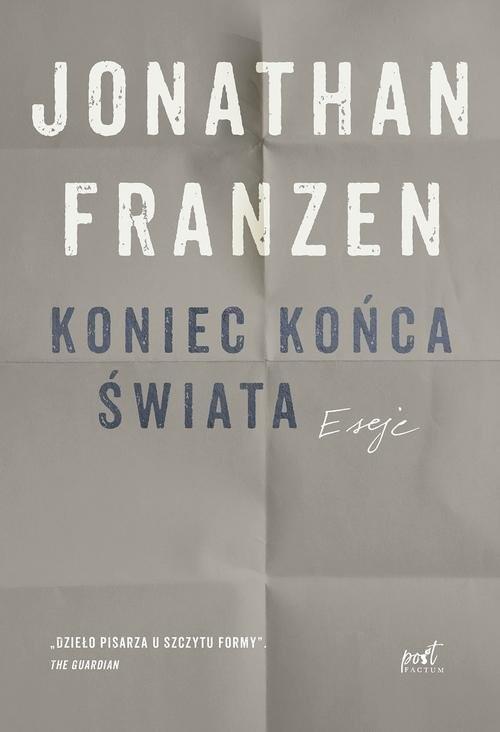 okładka Koniec końca świata, Książka | Jonathan Franzen