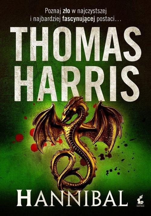 okładka Hannibal, Książka | Harris Thomas
