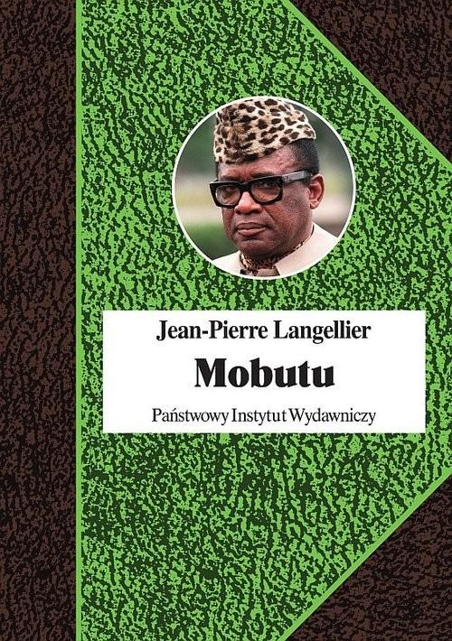 okładka Mobutu, Książka   Langellier Jean-Pierre