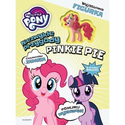 okładka My Little Pony Niezwykłe przygody Pinkie Pie z figurką Ciekawostki i zadaniaksiążka |  | praca zbiorowa, praca zbiorowa