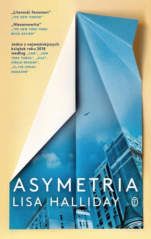 okładka Asymetria, Książka | Halliday Lisa